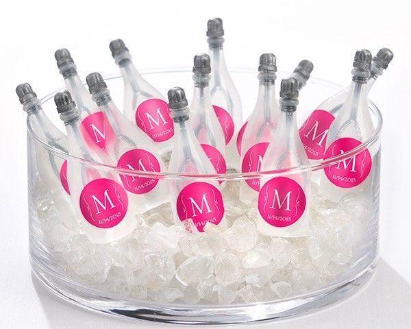 Mini Champagne Bubble Favors