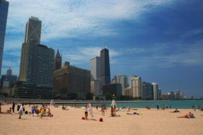 Chicago Illinois Us Map