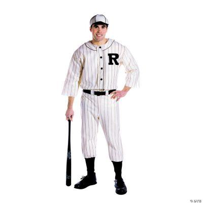 Men's Old Tyme Baseball Player Costume   Oriental Trading