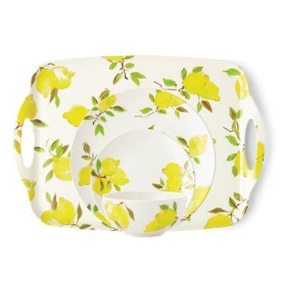 Kate Spade New York Lemon Melamine Dinnerware Collection