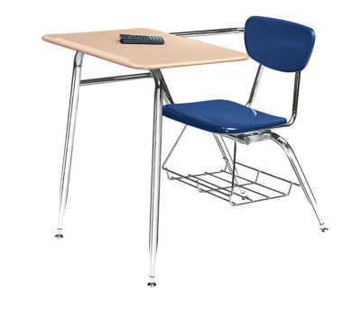 Student Desk Chairs   Kids School Desk and Chair Combo is Classroom     Compare Virco 3400 Hard Plastic Chair Desk 18  High  D57062