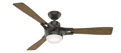 Signal with LED Light 54 inch Ceiling Fan   Hunter Fan