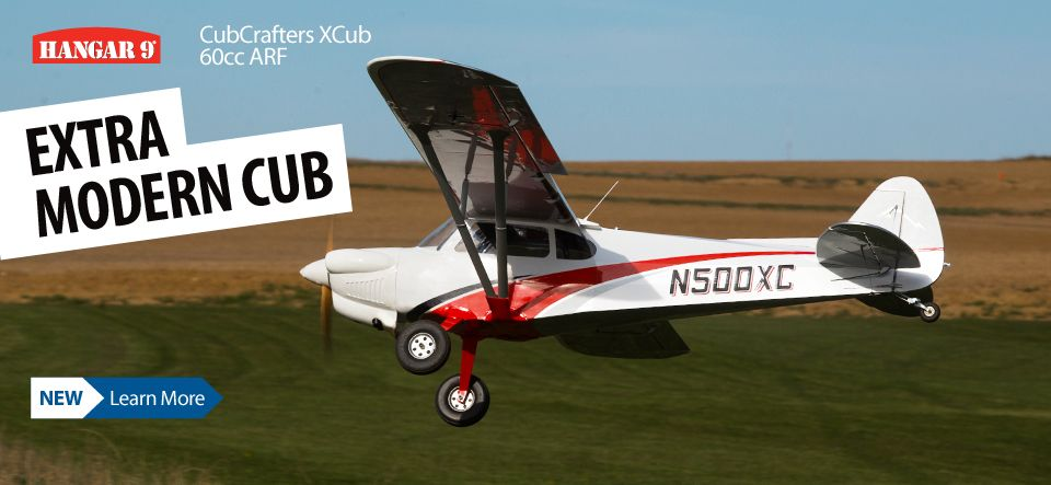 Hangar 9   HorizonHobby     Hangar 9 CubCrafters XCub 60cc ARF 116 inch Officially Licensed Giant  Scale RC Civilian