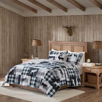 Woolrich 174 Sweetwater Reversible Quilt Set Bed Bath Amp Beyond