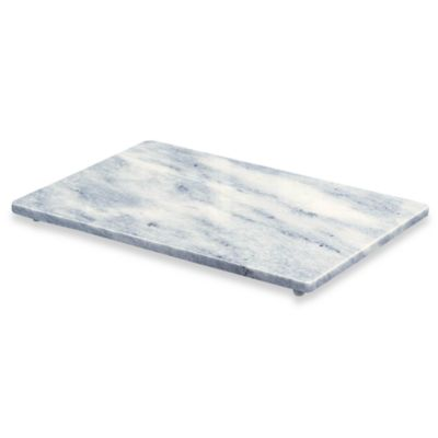 Buy White Marble 12-Inch x 18-Inch Cutting Board from Bed ...
