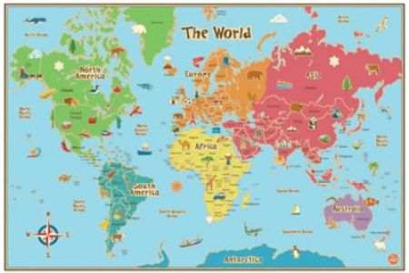 Interior maps international giant world map full hd maps locations affordable map wall murals posters for sale at allposters com executive world map write on dry erase giant laminated map poster gb custom wall maps business gumiabroncs Gallery