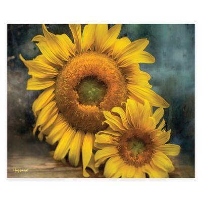 Courtside Market Sunflowers Canvas Wall Art Bed Bath