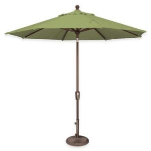Buy Sunbrella Umbrellas from Bed Bath   Beyond SimplyShade     Catalina 9 Foot Octagon Aluminum Tilt Market Umbrella in  Sunbrella     Ginkgo