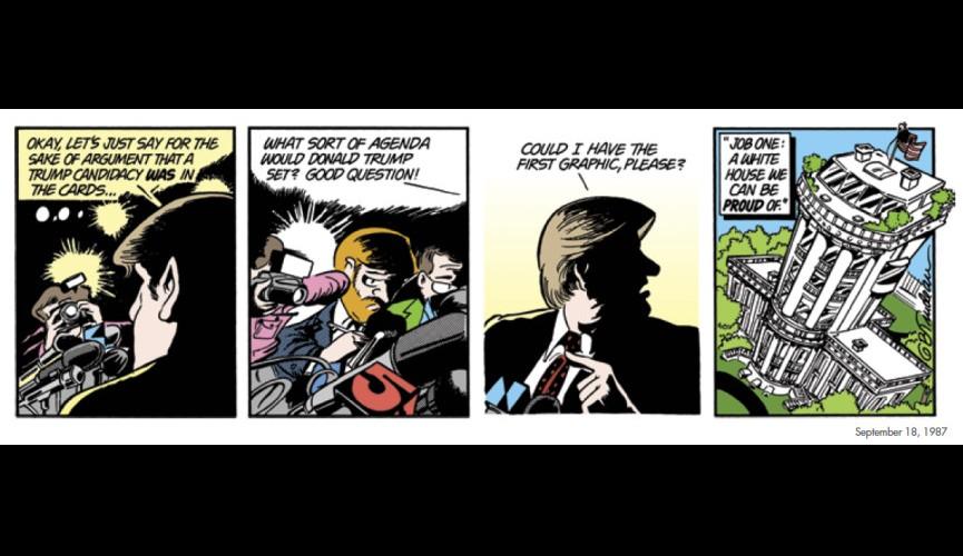Quot Doonesbury Quot Cartoonist Garry Trudeau On 30 Years Of