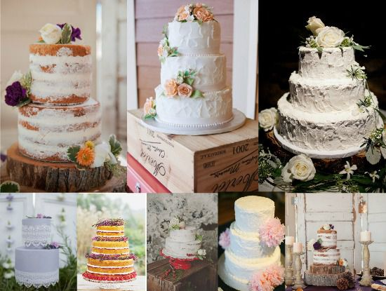 Vintage Style Wedding Cakes   Rustic Wedding Chic Ideas For A Vintage Style Wedding Cake