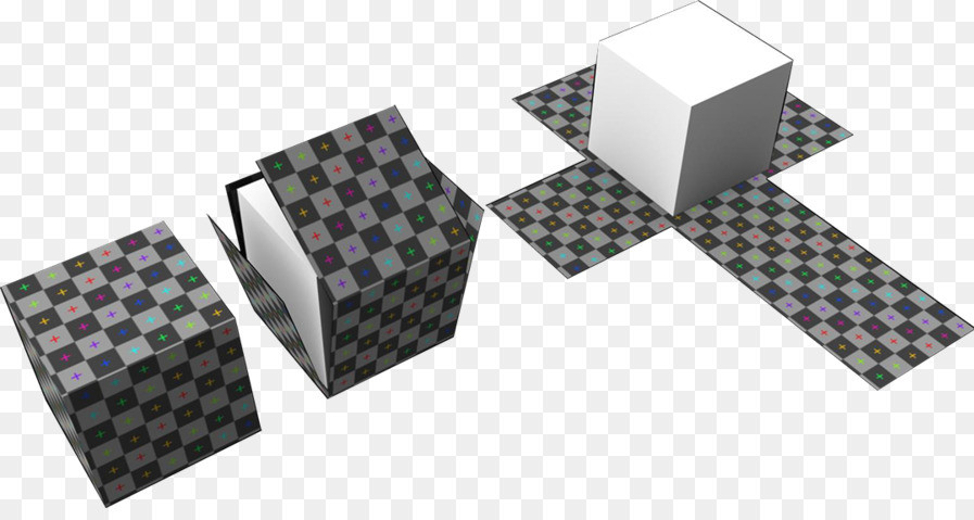 Despliegue UV de un cubo