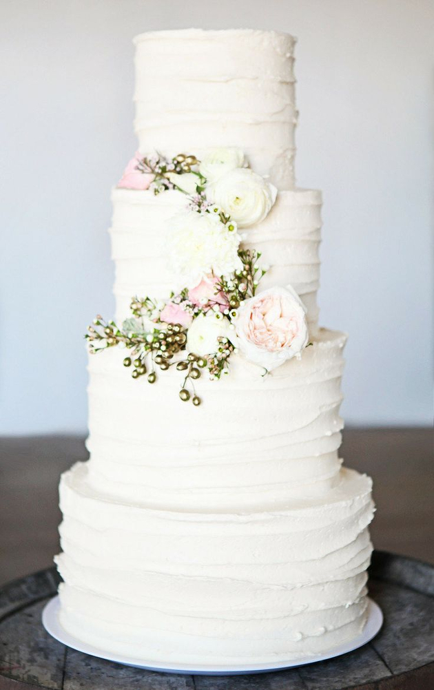 Buttercream Wedding Cakes Ivory and Rose Cake Company Bridal Musings         630      1002 in 2016 Wedding Trends  Cakes