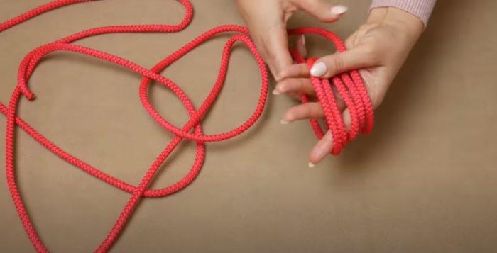 Kransning av rep