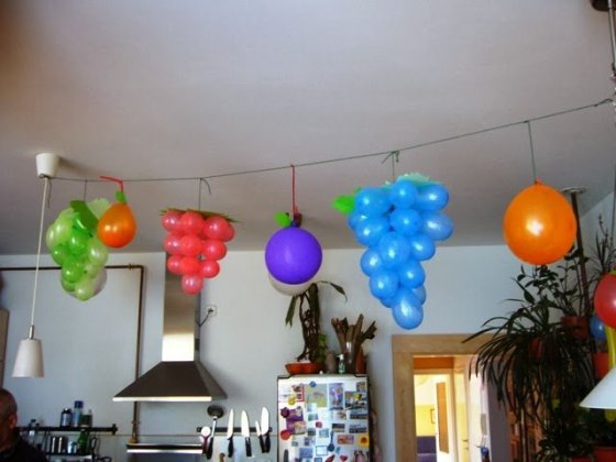 7 Lovable Very Easy Balloon Decoration Ideas  Part 1   Sad To Happy     diy balloon decoration ideas for home party14