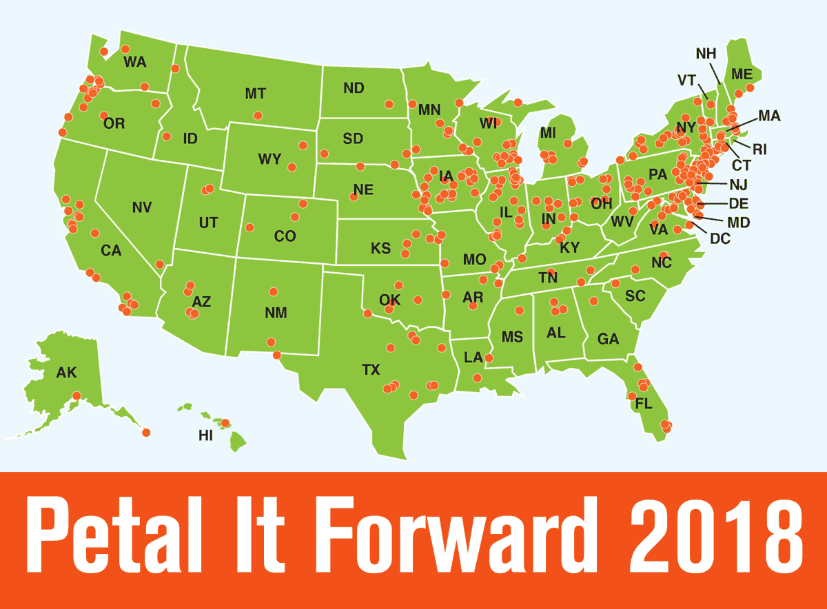 Florists in All 50 States Plan to Petal It Forward on Oct. 24