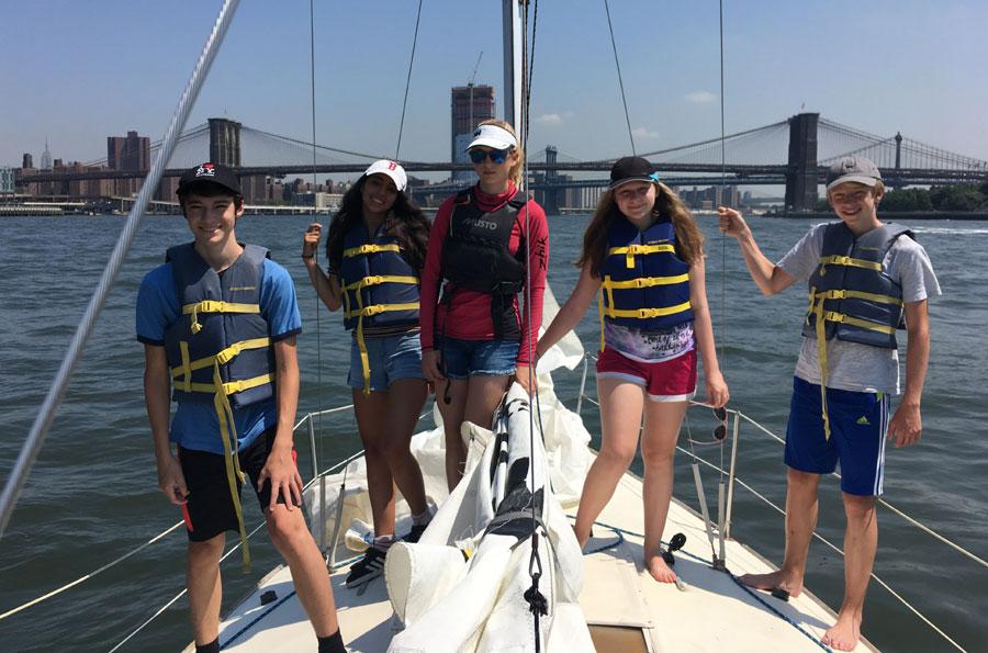 Teen Sailing Academy J 24 Pictures Manhattan Sailing