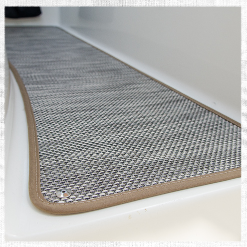 How to Replace Boat Carpet with Woven Flooring   Do It Yourself     How to Replace Boat Carpet with Woven Flooring