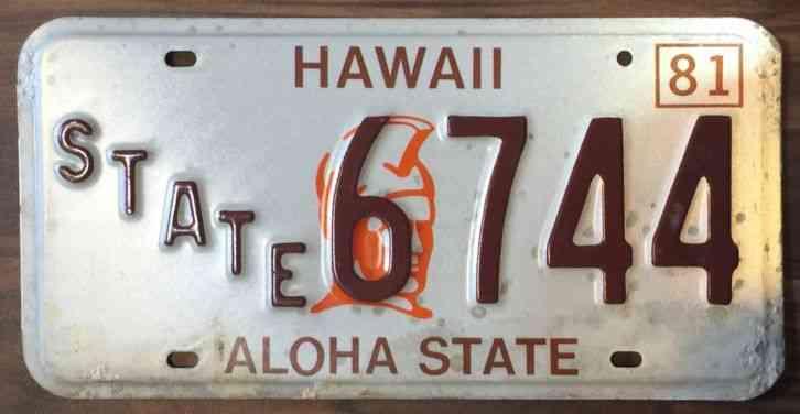 Handicap License Plate Application