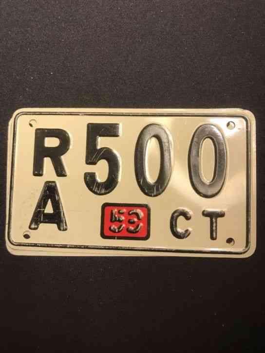 Old Plates Iowa License