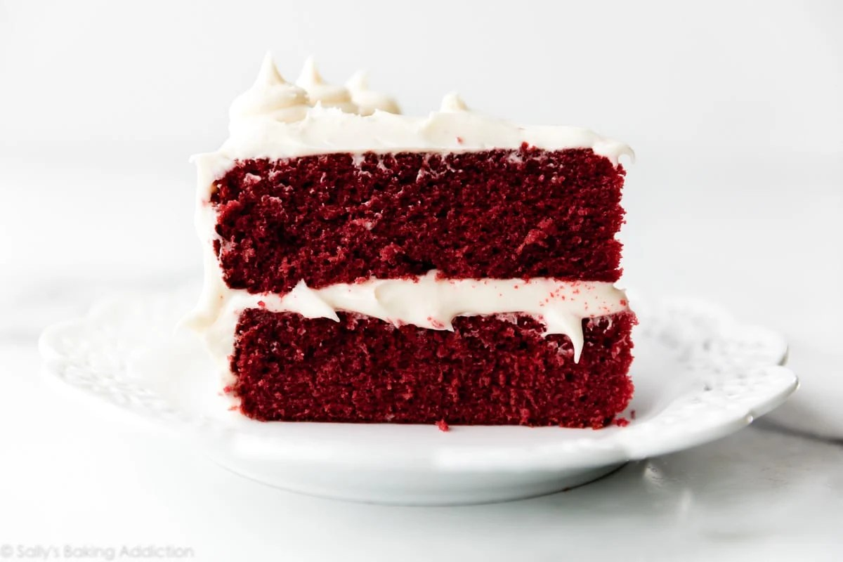 Red Velvet Cake With Cream Cheese Frosting Sally S