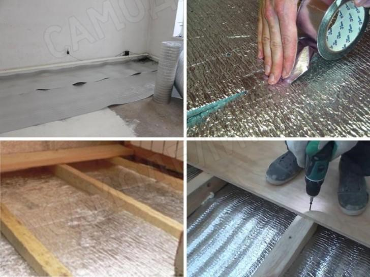 Floor insulation Penosol