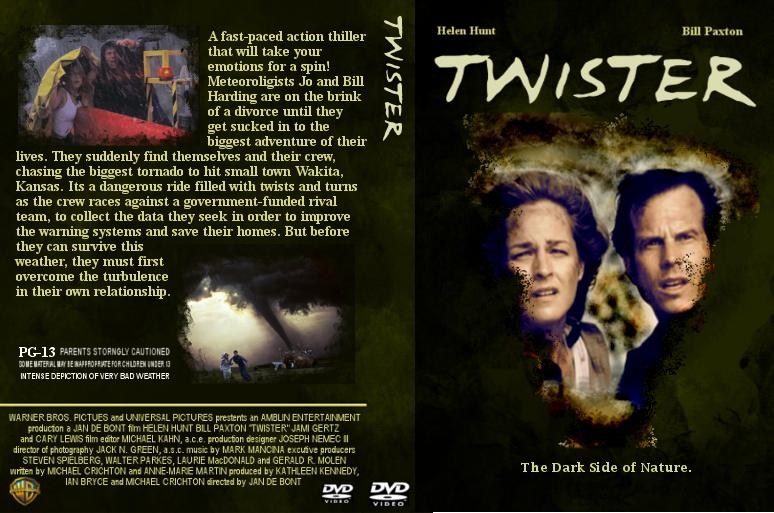 Twister Dvd Cover Sample Artwork For Internship