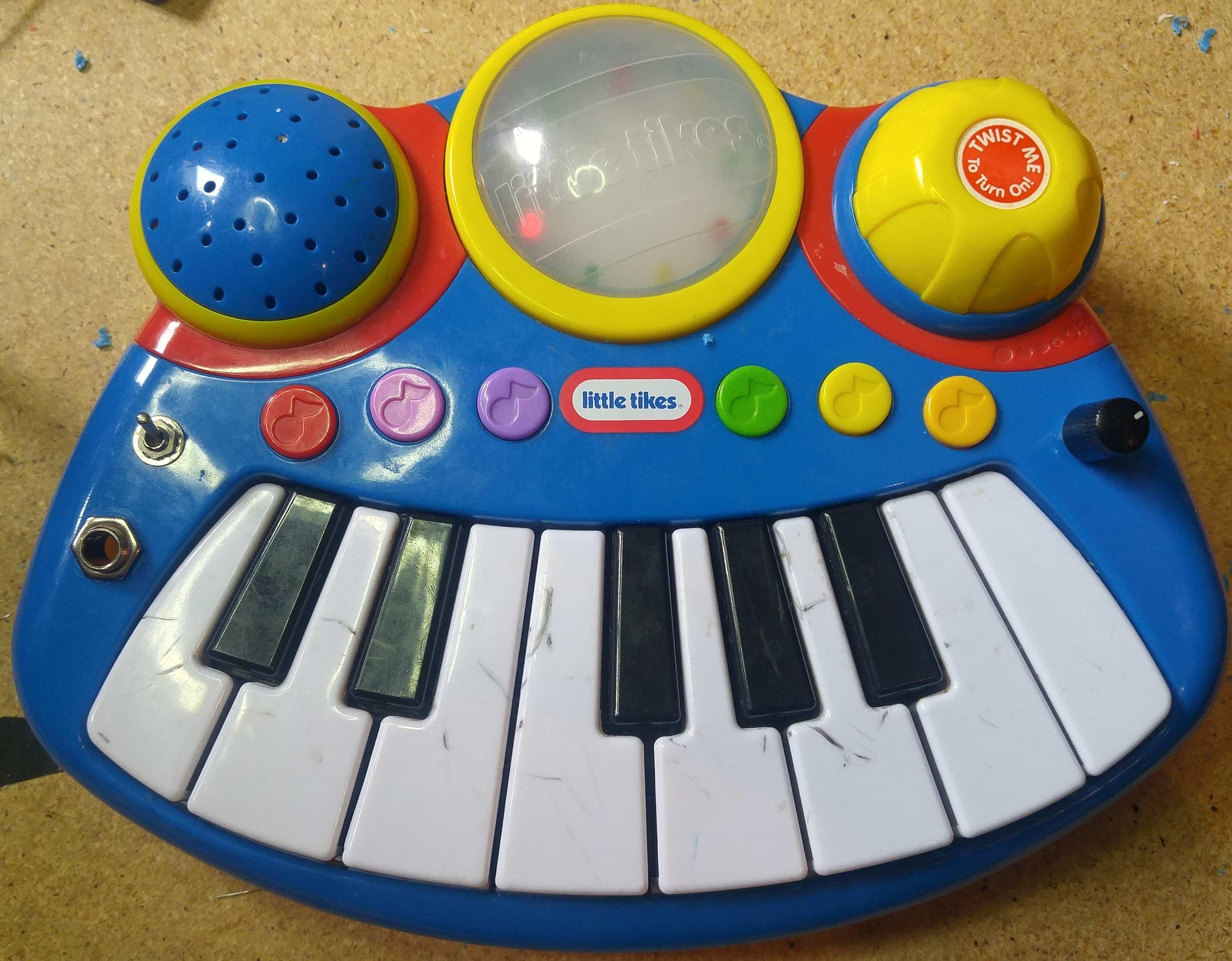 Basic Bends Little Tikes Pop Tunes Keyboard Sam Vs Sound