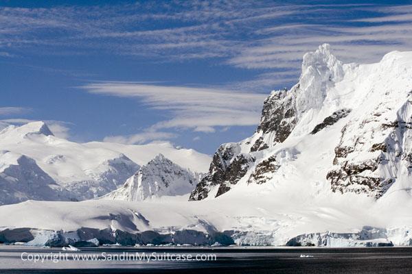 Iceberg Frozen Antarctica Penguins