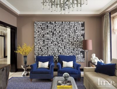 Text Message  12 Ways to Incorporate Art With Words In Your Home     Text Message  12 Ways to Incorporate Art With Words In Your Home   Features    Design Insight from the Editors of Luxe Interiors   Design