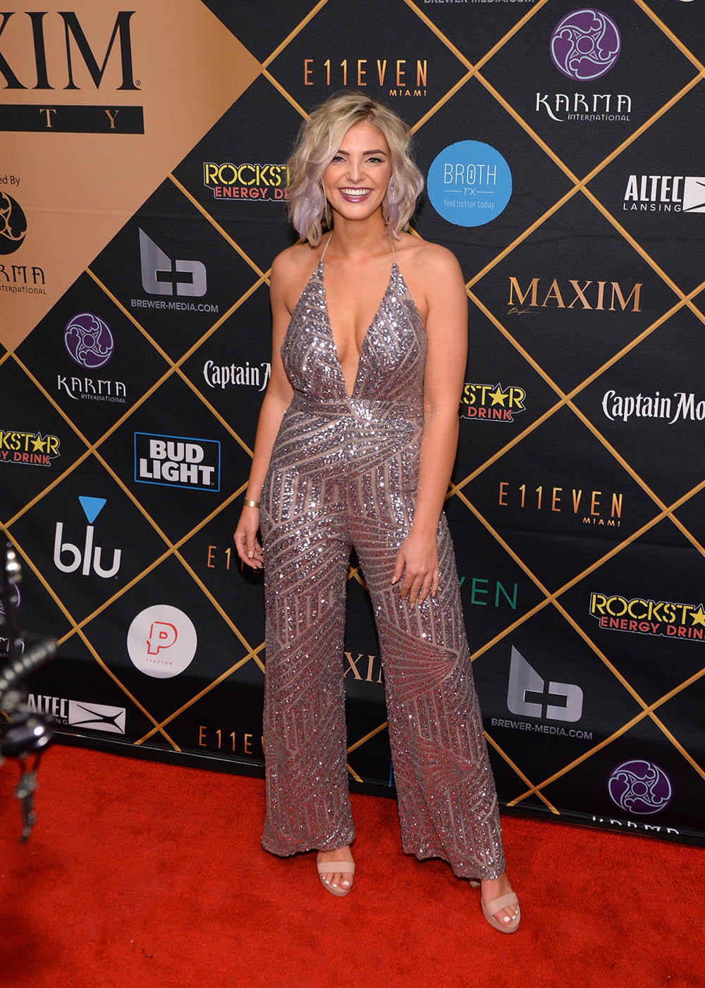 Olivia Caridi Attends The 2018 Maxim Party Co Sponsored By