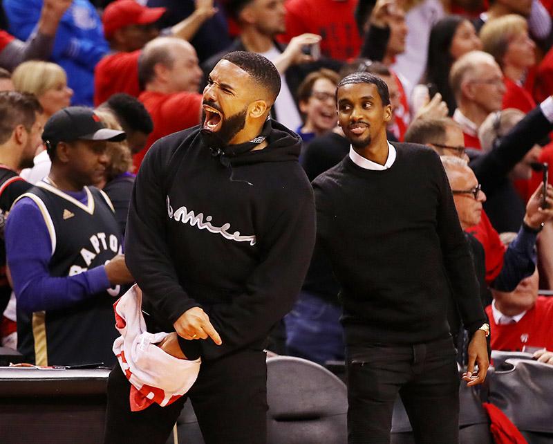 NBA Spoke to Raptors About Drake's Antics Ahead of Finals
