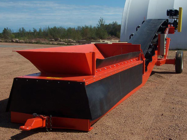Rail Truck Barge Loading And Unloading Conveyors Sand