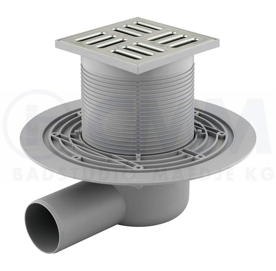 Bodenablauf Duschablauf Badablauf Ablauf, extraflach, für begehbare Dusche