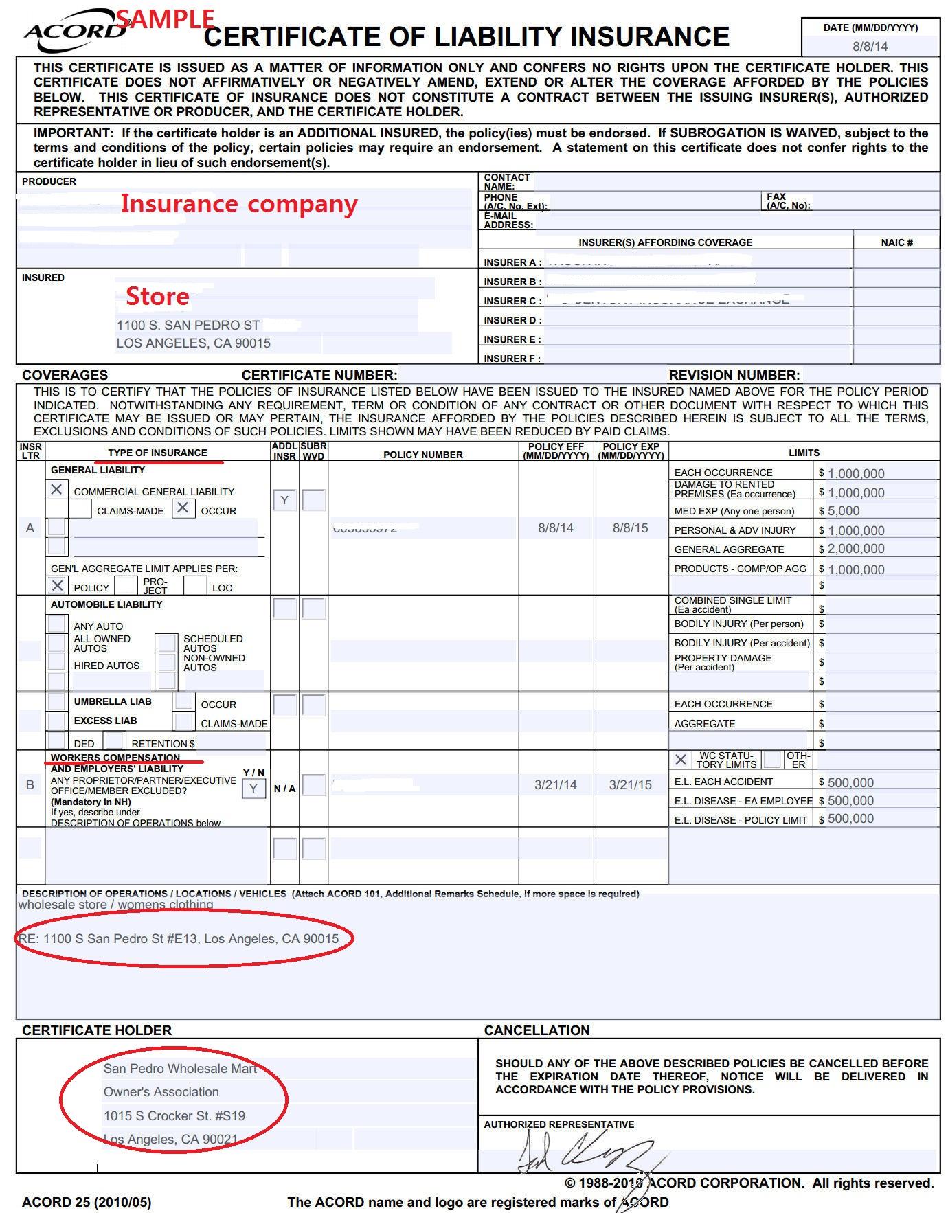 Ca Resale Certificate Example