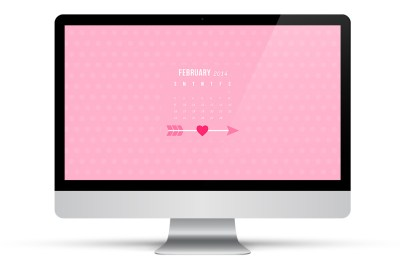 February 2014 Calendar Wallpapers - Sarah Hearts