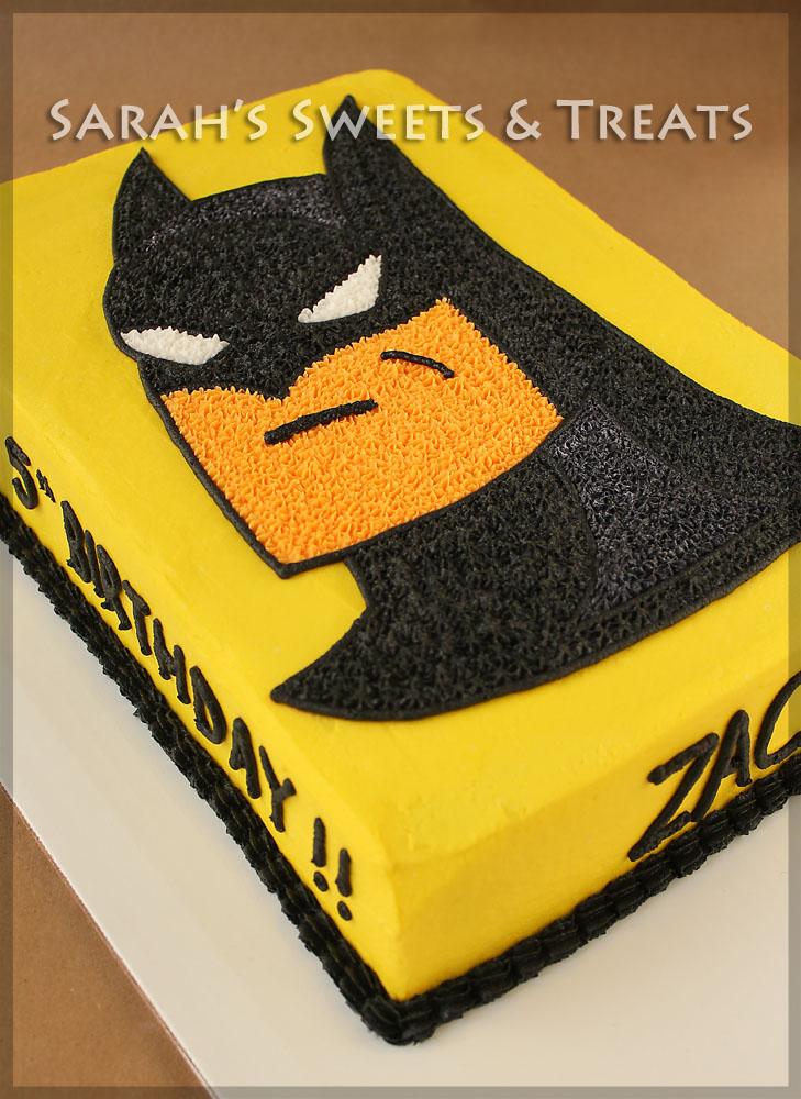 Batman Cake Sarah S Sweets Amp Treats