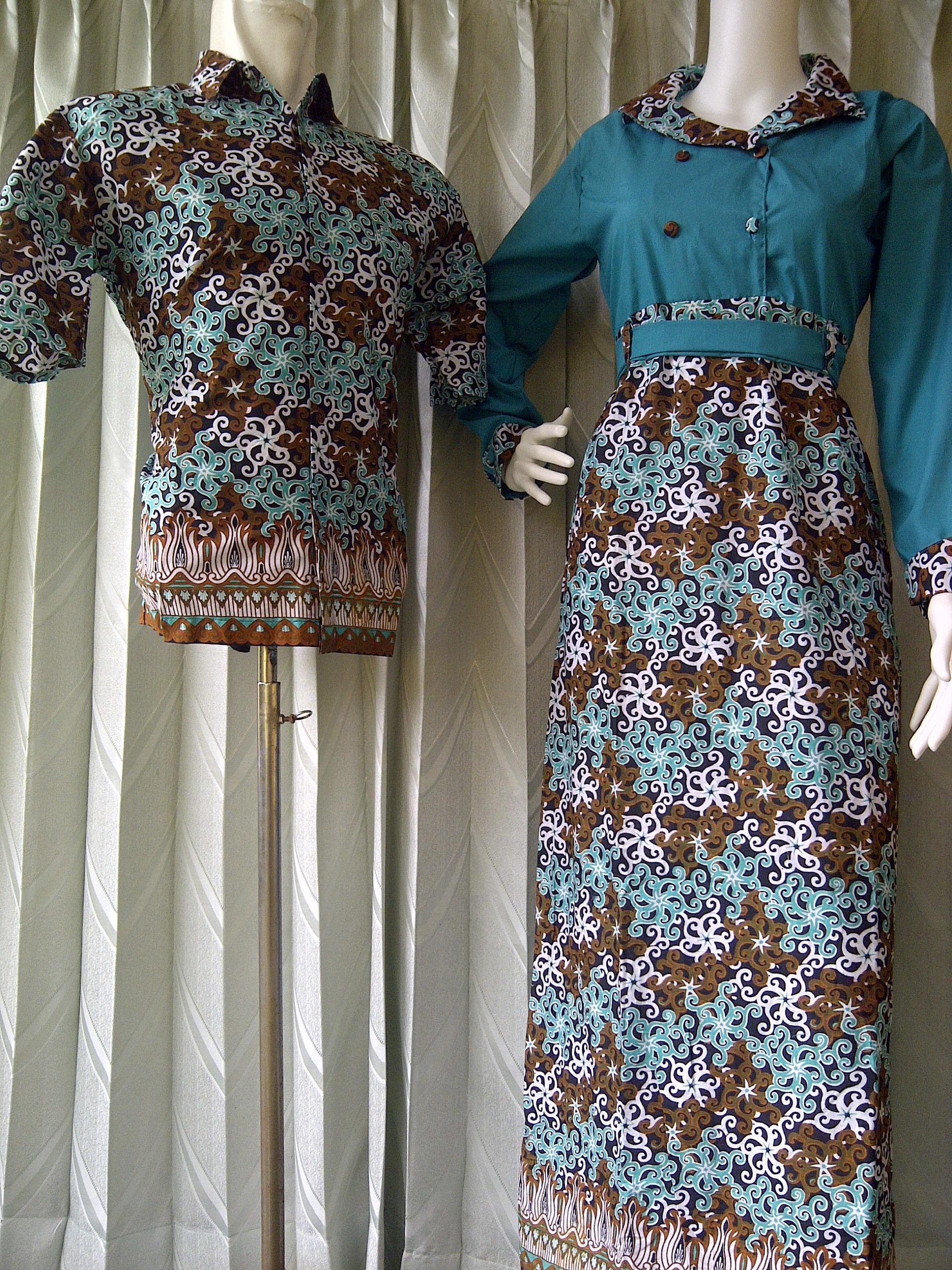 Model Gamis Batik Keris « Grosir Batik Solo Terkini