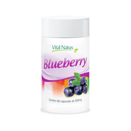 Blueberry 500mg 60 Cápsulas - Vital Natus