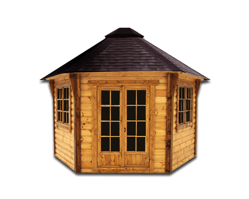 Gardenhouse – for 8-10 people – made of high quality ...
