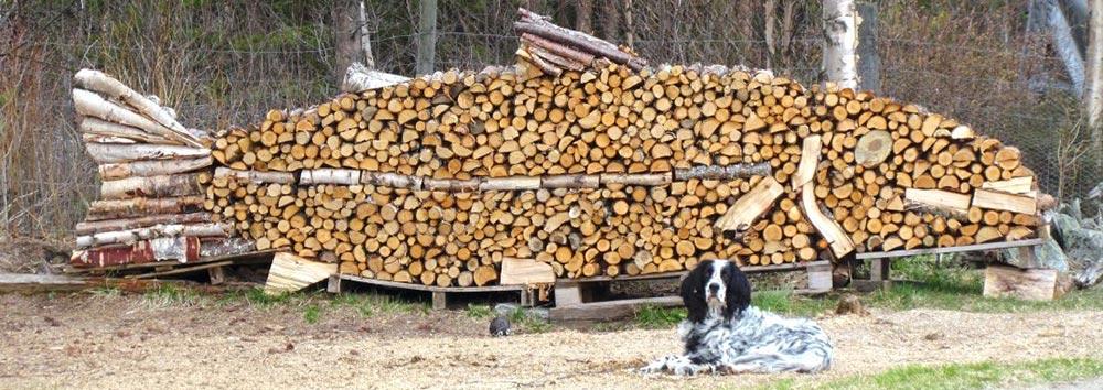 Креативная укладка дров