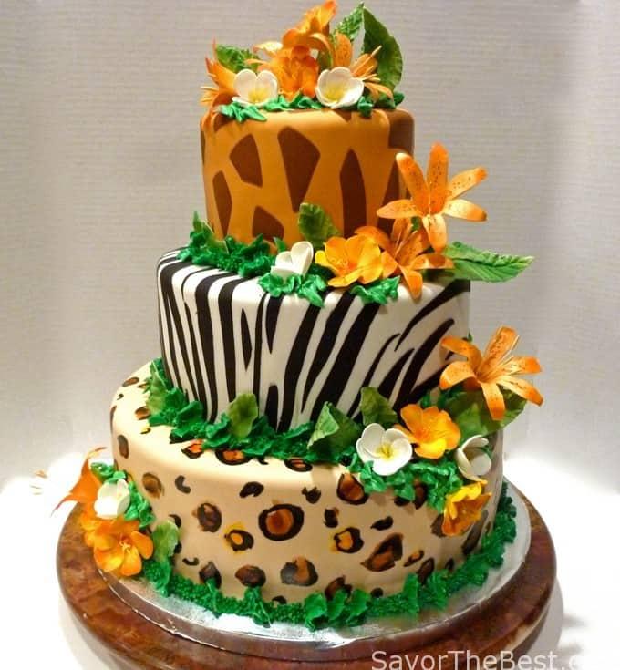Jungle Baby Shower Cake Ideas