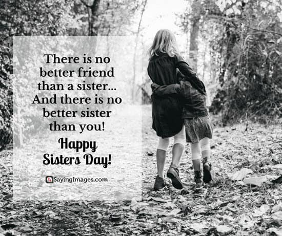 Happy Sisters Day Quotes and Greetings   SayingImages com big sister quotes