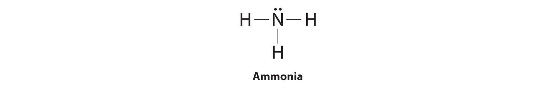 Ammonia Electron Dot Structure