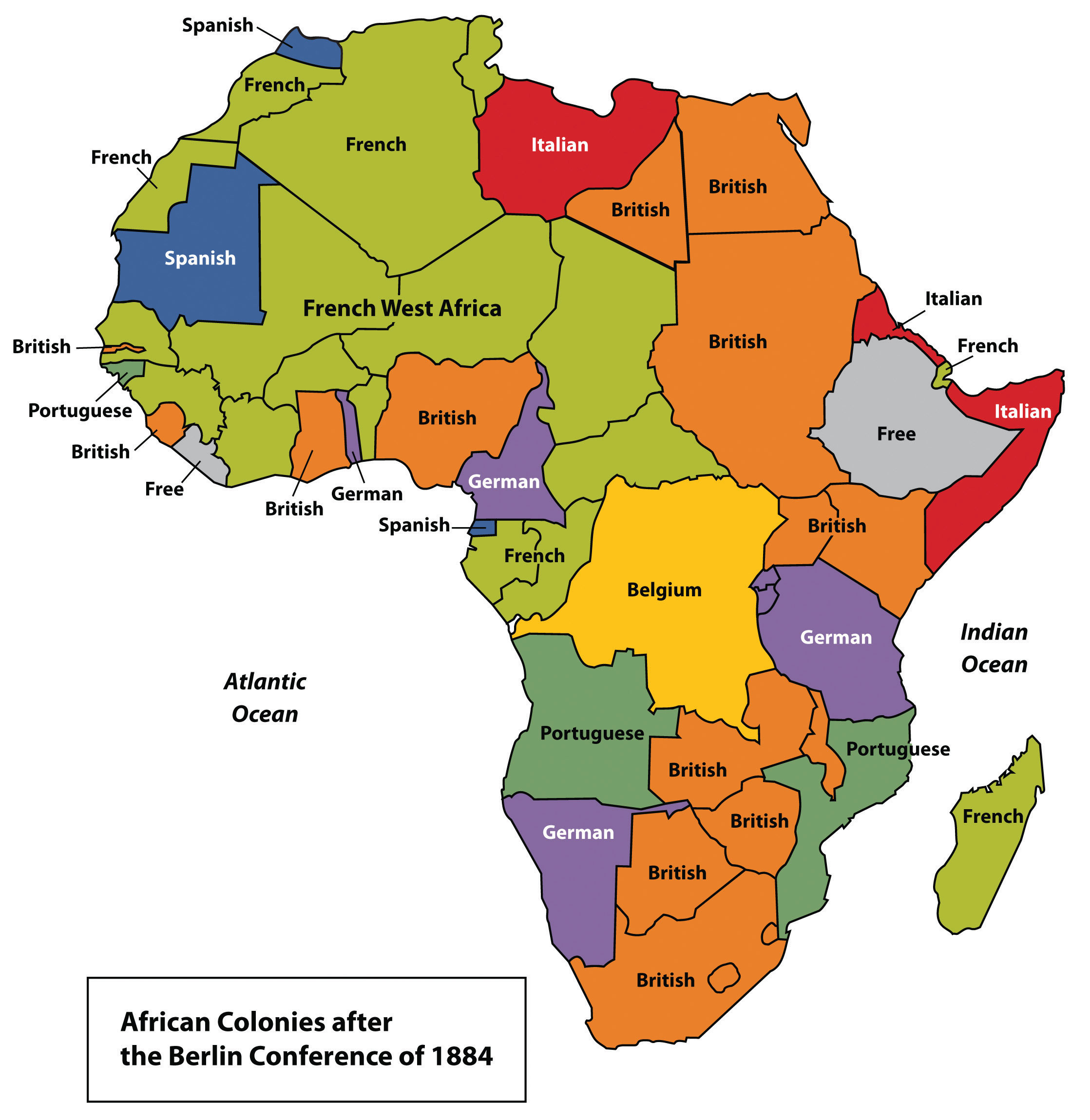 Independent Countries In Africa