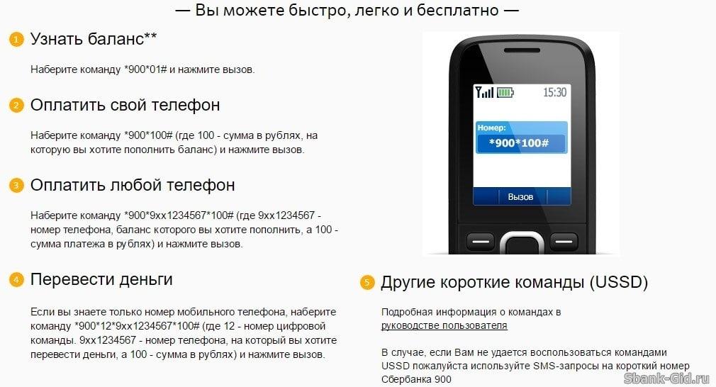 Сбербанк карточкасындағы теңгерім телефон арқылы