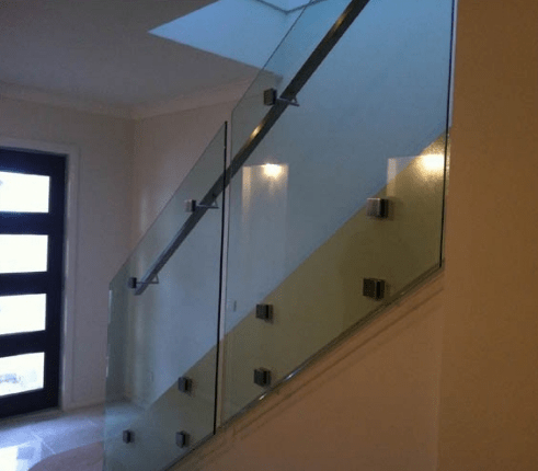 Modern Indoor Stair Railings With Square Glass Adapter Buy Stair | Indoor Stair Railings Modern | Contemporary | Farmhouse | Rail | Glass | Aircraft Cable