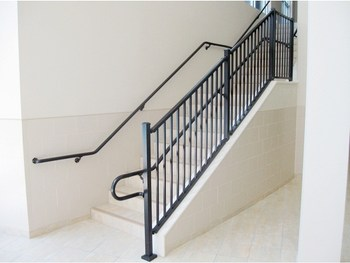 Aluminium Glass Railing Lowes Handrails For Outdoor Steps For Sale | Outdoor Step Railing Lowes | Outdoor Living | Lowes Com | Composite Decking | Handrail Kit | Deck Stairs