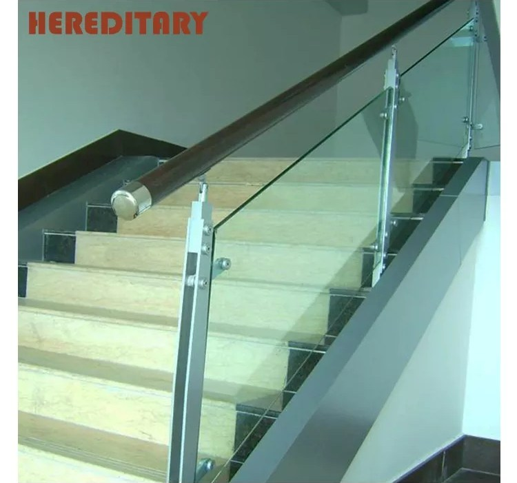 Outdoor Stair Handrail Design Stainless Steel Porch Railings Clear   Staircase Handrail Glass Designs   Crystal   Work   Steel   White Modern Glass   Stairs Side Grill