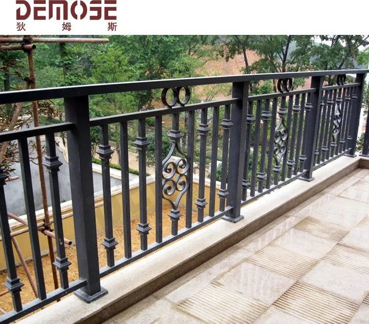 Simple Outdoor Wrought Iron Stair Steps Railing Railing For Door | Iron Handrails For Steps | Minimalist Simple Stair | Double Basket | Contemporary | Horizontal Farmhouse | Outdoor