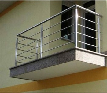 Deck And Balcony Stainless Steel Railing Handrails Design Balcony | Stainless Steel Handrail Designs | Balustrade | Supplier | Steel Ordinary | Standard Steel | Simple